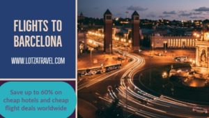 Best Cheap Tickets to Barcelona